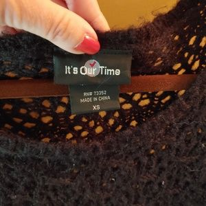 It's Our Time Sweaters - Cozy sweater
